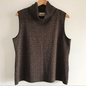 🌿Mary McFadden Collection Sleeveless Sweater